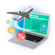 Монетизация сайта uCoz с помощью виджета поиска авиабилетов от AviaSales